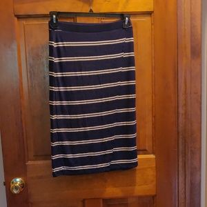 Tommy Hilfiger XS Navy and white skirt
